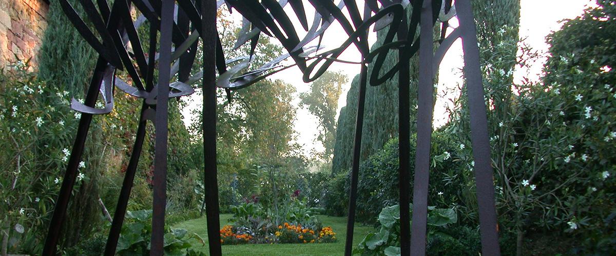 Jardins de la Ferme Bleue à Uttenhoffen en Alsace